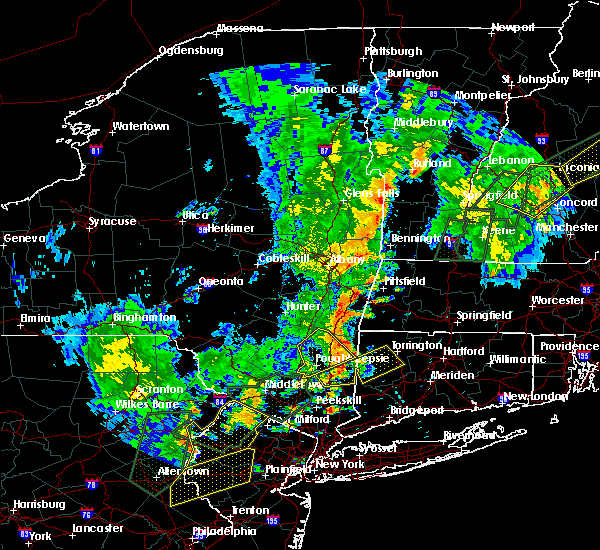 Radar Image for Severe Thunderstorms near Canaan, CT at 6/19/2017 4:08 PM EDT