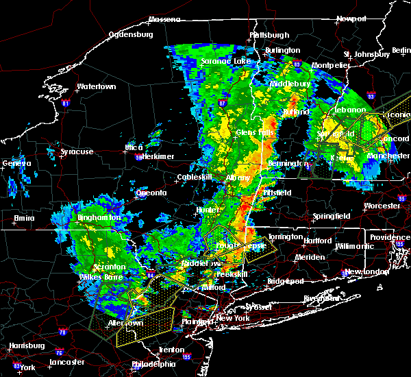Radar Image for Severe Thunderstorms near Canaan, CT at 6/19/2017 4:09 PM EDT