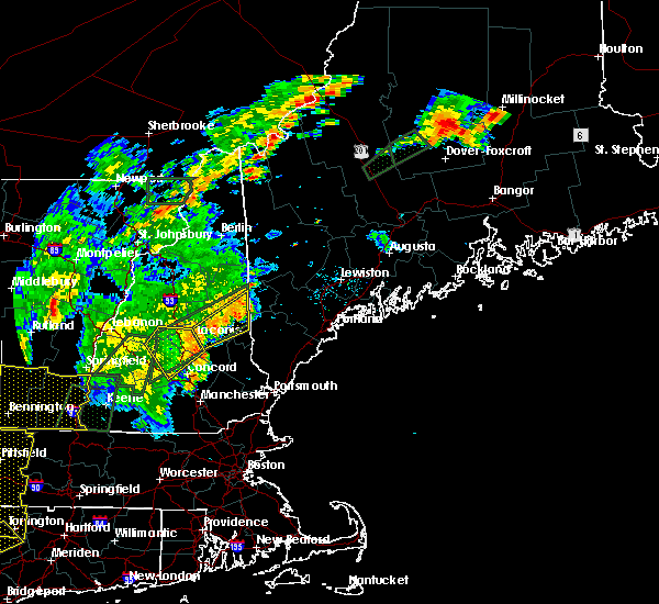 Radar Image for Severe Thunderstorms near Melvin Village, NH at 6/19/2017 4:19 PM EDT