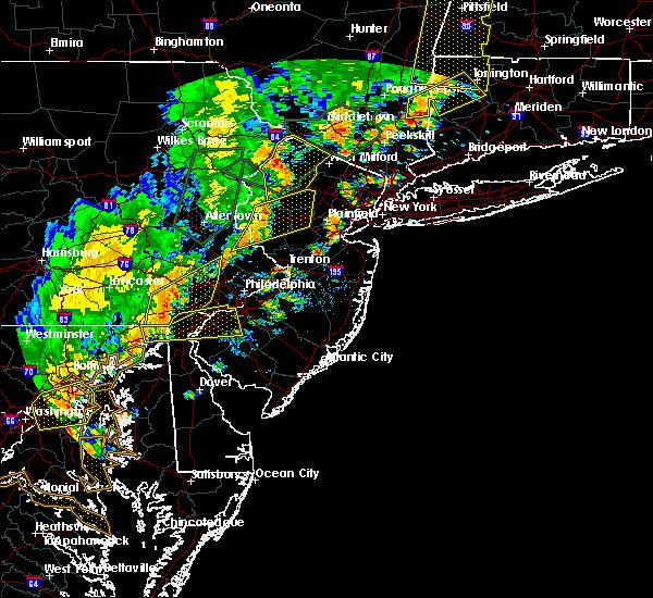 Radar Image for Severe Thunderstorms near Dover, NJ at 6/19/2017 4:19 PM EDT