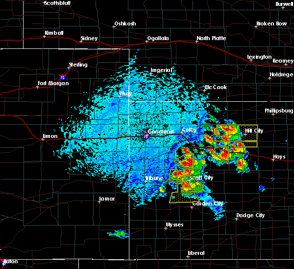 Radar Image for Severe Thunderstorms near Marienthal, KS at 6/20/2017 4:16 PM CDT