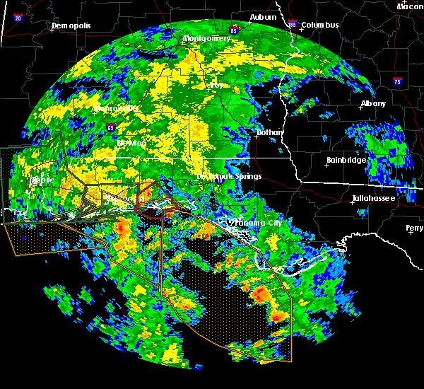Radar Image for Severe Thunderstorms near Ocean City, FL at 6/21/2017 4:36 AM CDT
