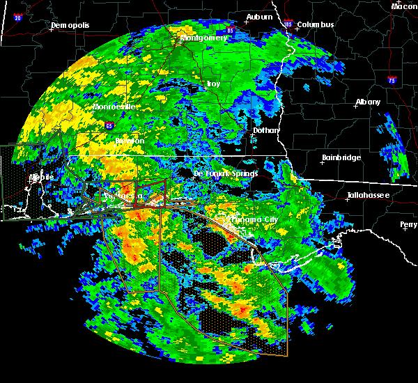 Radar Image for Severe Thunderstorms near Ocean City, FL at 6/21/2017 6:16 AM CDT