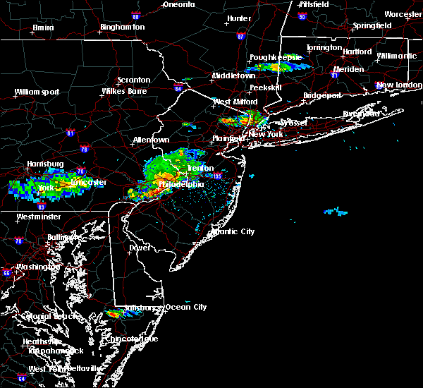 Radar Image for Severe Thunderstorms near Jenkintown, PA at 6/21/2017 4:54 PM EDT