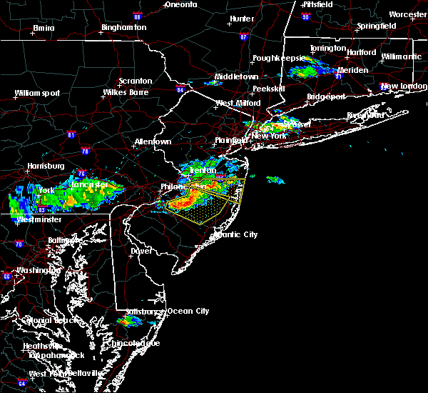 Radar Image for Severe Thunderstorms near Clementon, NJ at 6/21/2017 5:26 PM EDT