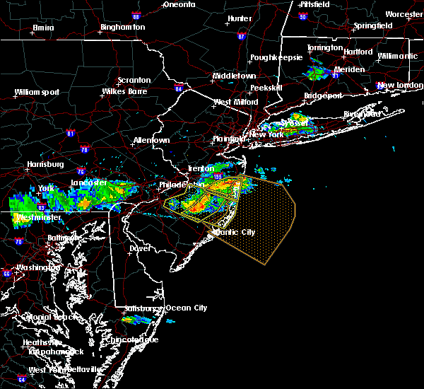 Radar Image for Severe Thunderstorms near Silver Ridge, NJ at 6/21/2017 5:45 PM EDT