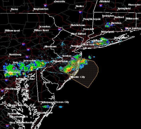 Radar Image for Severe Thunderstorms near Silver Ridge, NJ at 6/21/2017 5:57 PM EDT