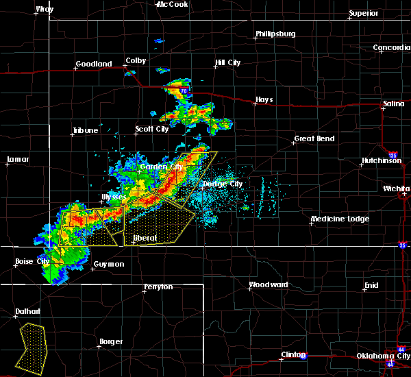 Radar Image for Severe Thunderstorms near Moscow, KS at 6/21/2017 6:49 PM CDT