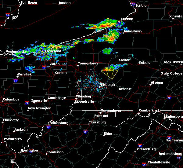 Radar Image for Severe Thunderstorms near Kittanning, PA at 6/22/2017 12:49 PM EDT