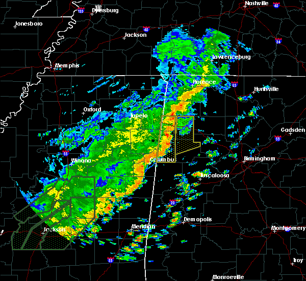 Radar Image for Severe Thunderstorms near Twin, AL at 6/23/2017 12:57 PM CDT