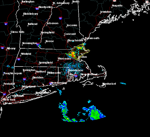 Radar Image for Severe Thunderstorms near Lowell, MA at 6/23/2017 2:00 PM EDT