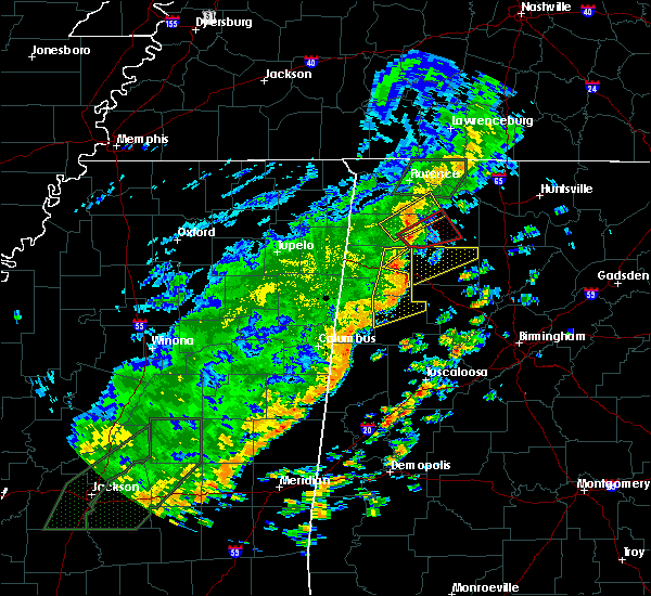 Radar Image for Severe Thunderstorms near Twin, AL at 6/23/2017 1:28 PM CDT