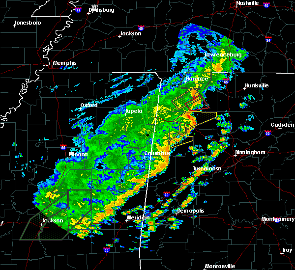 Radar Image for Severe Thunderstorms near Fayette, AL at 6/23/2017 1:38 PM CDT