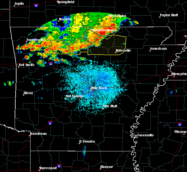 Radar Image for Severe Thunderstorms near Ash Flat, AR at 6/23/2017 2:46 PM CDT