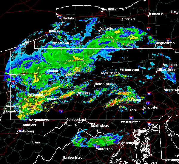 Radar Image for Severe Thunderstorms near Carlisle, PA at 6/23/2017 3:53 PM EDT
