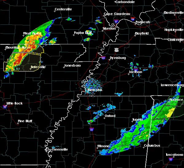 Radar Image for Severe Thunderstorms near Hardy, AR at 6/23/2017 3:03 PM CDT