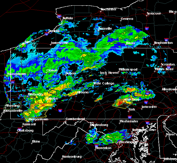 Radar Image for Severe Thunderstorms near Hershey, PA at 6/23/2017 4:11 PM EDT