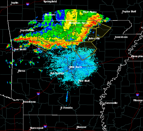 Radar Image for Severe Thunderstorms near Bradford, AR at 6/23/2017 3:24 PM CDT