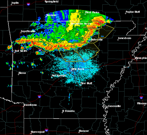 Radar Image for Severe Thunderstorms near Higden, AR at 6/23/2017 3:27 PM CDT