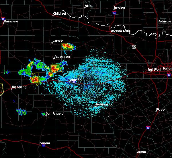 Radar Image for Severe Thunderstorms near Hamlin, TX at 6/23/2017 5:10 PM CDT
