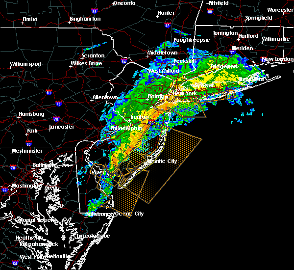 Radar Image for Severe Thunderstorms near Sea Isle City, NJ at 6/24/2017 7:24 AM EDT