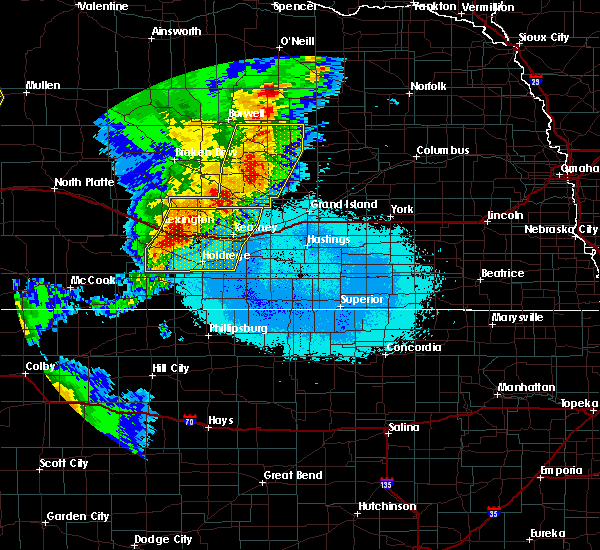 Radar Image for Severe Thunderstorms near Funk, NE at 6/27/2017 10:34 PM CDT