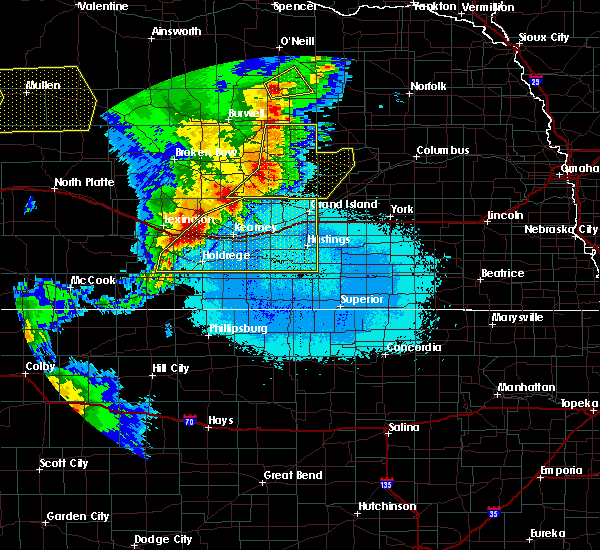 Radar Image for Severe Thunderstorms near Grand Island, NE at 6/27/2017 10:46 PM CDT