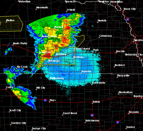 Radar Image for Severe Thunderstorms near Wolbach, NE at 6/27/2017 10:49 PM CDT