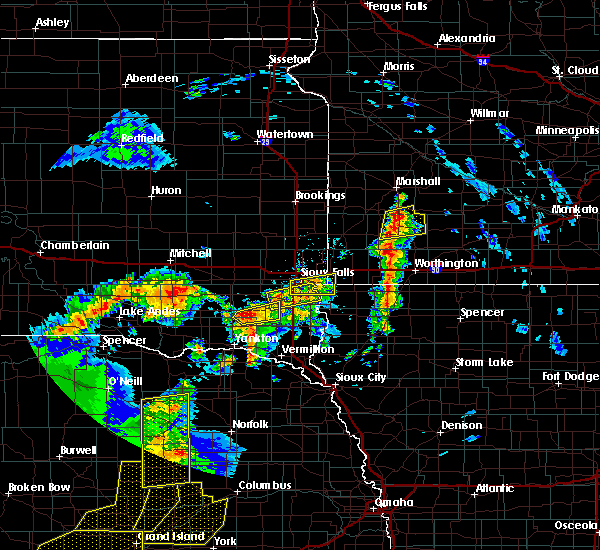 Radar Image for Severe Thunderstorms near The Lakes, MN at 6/27/2017 11:26 PM CDT