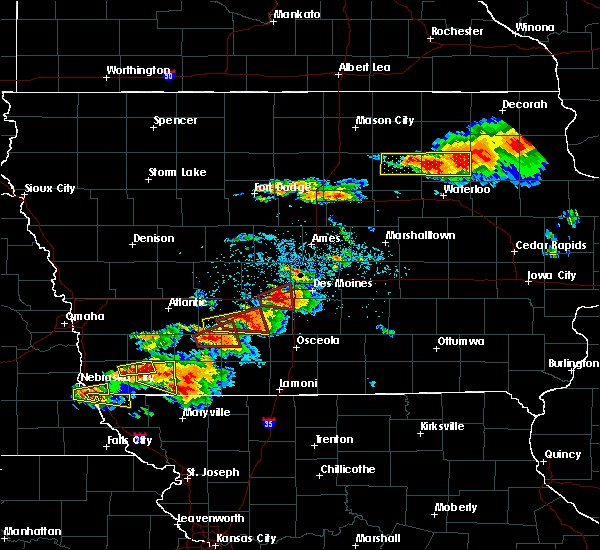 Radar Image for Severe Thunderstorms near Runnells, IA at 6/28/2017 4:52 PM CDT