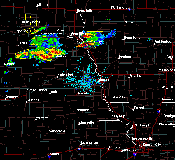 Radar Image for Severe Thunderstorms near Woodland Park, NE at 6/29/2017 4:32 PM CDT