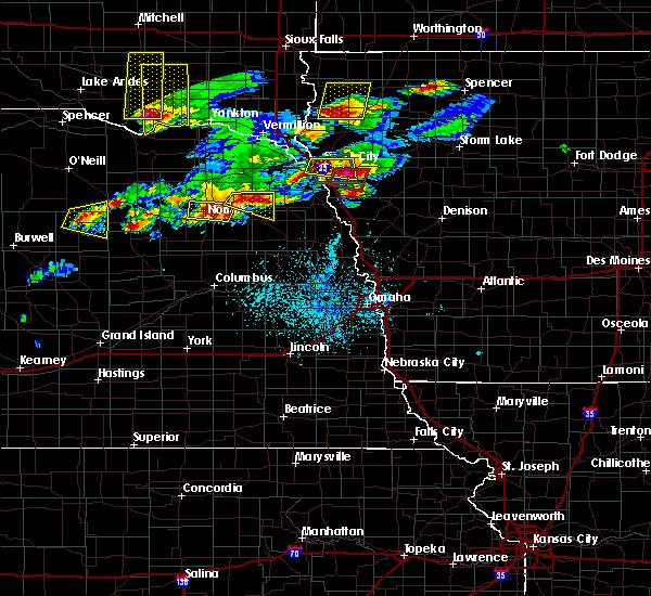 Radar Image for Severe Thunderstorms near Wakefield, NE at 6/29/2017 5:05 PM CDT