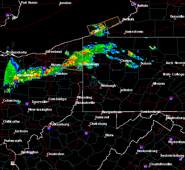 Radar Image for Severe Thunderstorms near Campbell, OH at 6/29/2017 8:50 PM EDT