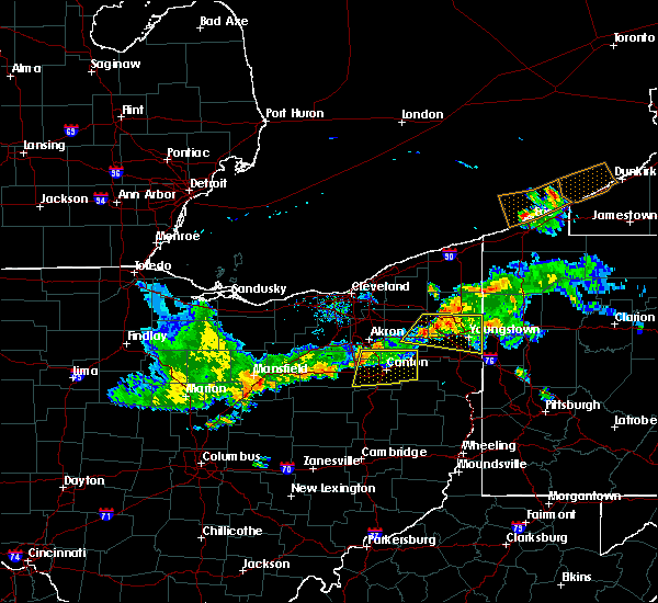 Radar Image for Severe Thunderstorms near Canal Fulton, OH at 6/29/2017 9:00 PM EDT