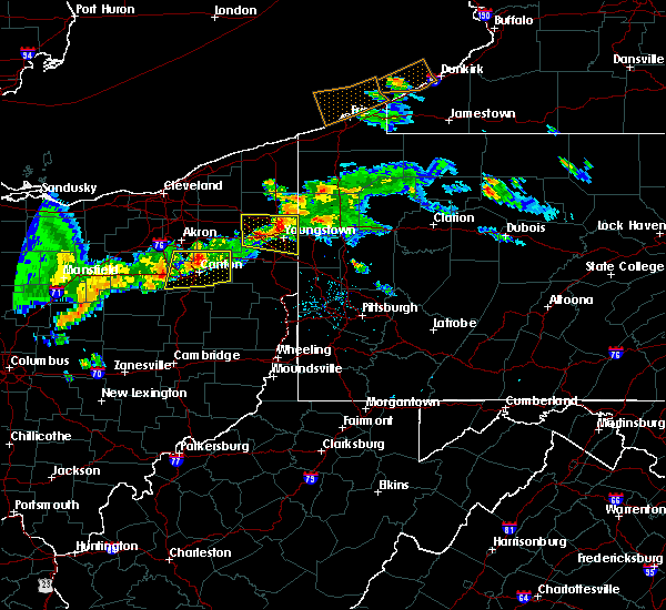 Radar Image for Severe Thunderstorms near Girard, OH at 6/29/2017 9:13 PM EDT