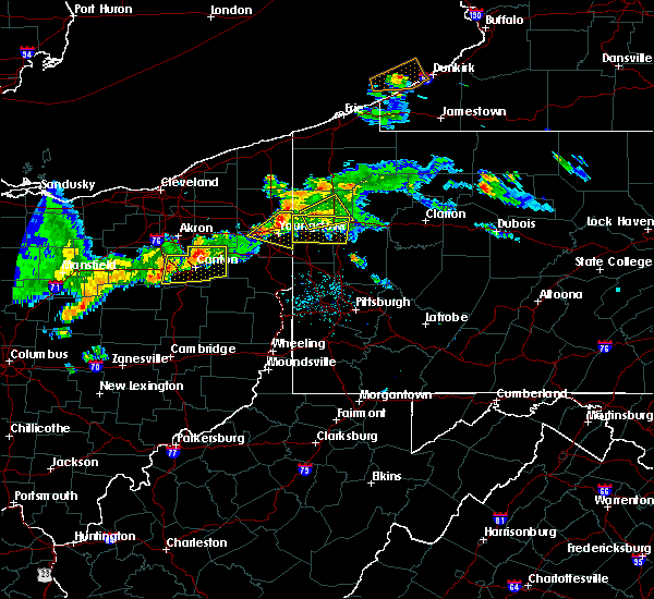 Radar Image for Severe Thunderstorms near Girard, OH at 6/29/2017 9:25 PM EDT