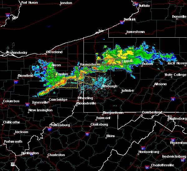 Radar Image for Severe Thunderstorms near Calcutta, OH at 6/29/2017 10:38 PM EDT