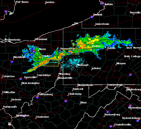 Radar Image for Severe Thunderstorms near Rogers, OH at 6/29/2017 10:38 PM EDT