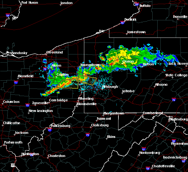 Radar Image for Severe Thunderstorms near Summitville, OH at 6/29/2017 10:51 PM EDT