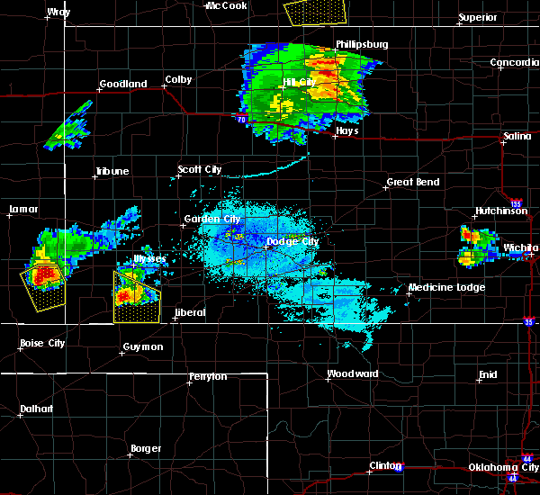 Radar Image for Severe Thunderstorms near Moscow, KS at 6/29/2017 9:54 PM CDT