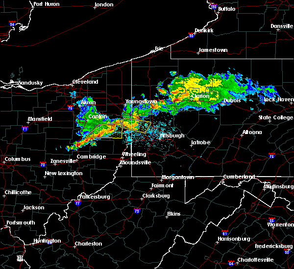 Radar Image for Severe Thunderstorms near Calcutta, OH at 6/29/2017 10:54 PM EDT