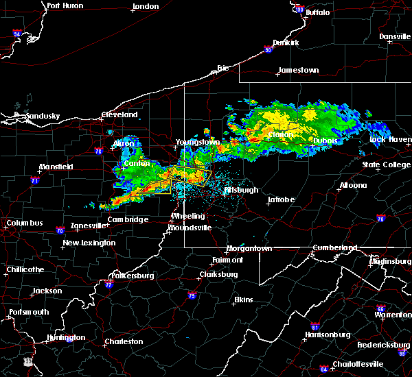 Radar Image for Severe Thunderstorms near Bergholz, OH at 6/29/2017 11:08 PM EDT