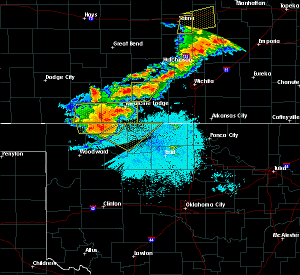 Radar Image for Severe Thunderstorms near Manchester, OK at 6/30/2017 12:35 AM CDT