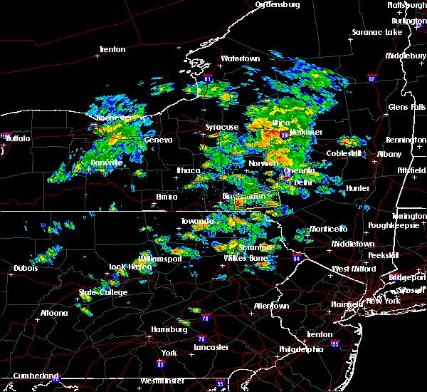 Radar Image for Severe Thunderstorms near Deposit, NY at 6/30/2017 2:29 PM EDT