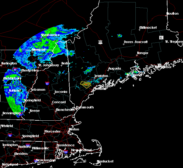 Radar Image for Severe Thunderstorms near Gray, ME at 6/30/2017 4:18 PM EDT