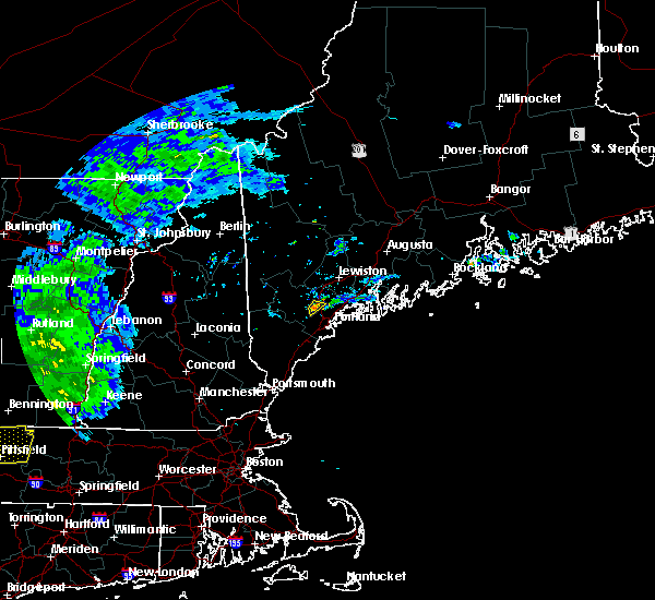 Radar Image for Severe Thunderstorms near Gray, ME at 6/30/2017 4:40 PM EDT