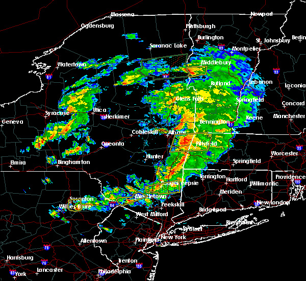 Radar Image for Severe Thunderstorms near Milton, NY at 6/30/2017 4:46 PM EDT