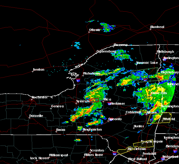 Radar Image for Severe Thunderstorms near Rome, NY at 6/30/2017 4:49 PM EDT