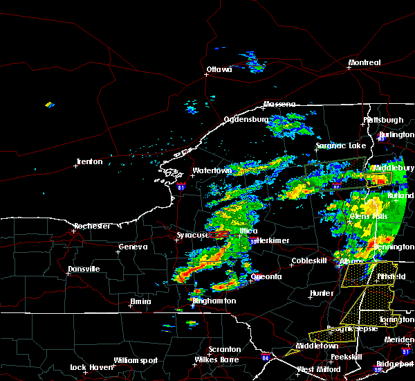 Radar Image for Severe Thunderstorms near Verona, NY at 6/30/2017 4:59 PM EDT
