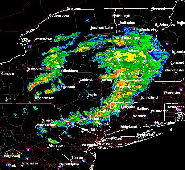 Radar Image for Severe Thunderstorms near Pittsfield, MA at 6/30/2017 5:05 PM EDT